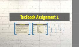 Textbook Assignment 1