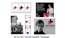 He For She- Gender Equality