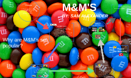 M&M's - Genius Hour