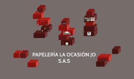PAPELERÍA LA OCASIÓN JO S.A.S