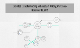 Copy of Extended Essay Formatting and Abstract Writing Workshop - No
