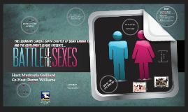 SGRHO AND GENTS: Battle of the Sexes