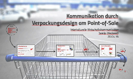 Kommunikation durch Verpackungsdesign am Point-of-Sale