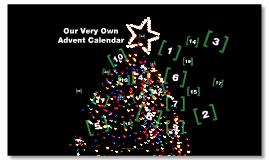 Copy of Copy of Advent Calendar Template
