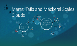 Mares' Tails and Mackerel Scales: Clouds
