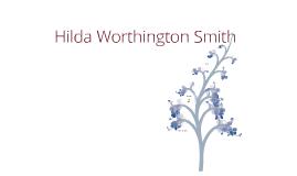 Hilda Worthington Smith