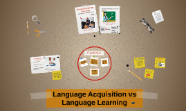 Copy of Language Acquisition vs Language Learning