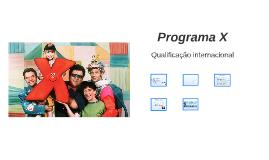 Programa X