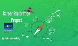 career exploration assignment