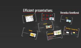 Efficient presentations