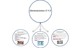 Generaciones X Y Z
