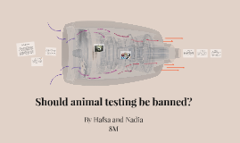 Should animal testing be bad?