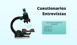 Cuestionarios/Entrevistas