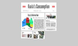 Koalas Consumption