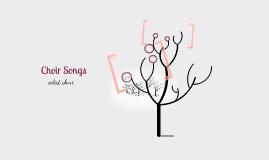 Choir Christmas Songs:)