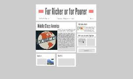 For Richer or for Poorer