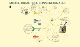 Copy of MEDIOS DIDACTICOS CONVENCIONALES
