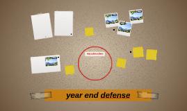 year end defense