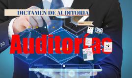 DICTAMEN DE AUDITORIA