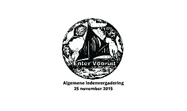 ALV Enter Vooruit 2015