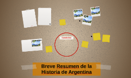 Breve Resumen de la Historia de Argentina