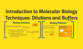 Introduction to Molecular Biology Techniques