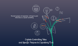 Controlling Idea Expository