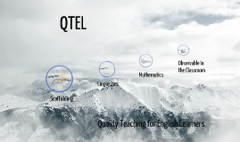 QTEL Quality Teaching for English Learners