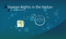 Human Rights in the Sudan