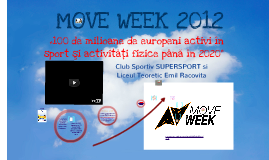 ",,Move Week"" la Liceul Teoretic Emil Racovita Baia Mare"