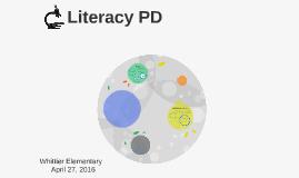 Literacy PD