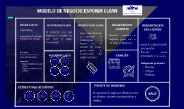 MODELO DE NEGOCIO ESPONJA CLEAN