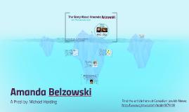 Amanda Belzowski, a Global Citizen