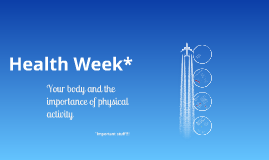 Copy of Health Week - Fitness Training