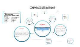 Copy of COMPARACIONES PAREADAS