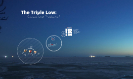 Copy of The Triple Low: Causative or Predictive?