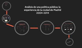Análisis de una política pública