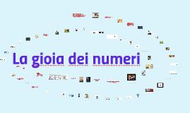 La gioia dei numeri