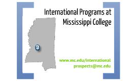 International Programs at Mississippi College