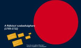 A Rákóczi szabadságharc
