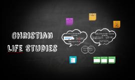 Christian LIfe Studies