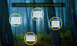 the crucible analysis of john Reverend john hale is the idealistic witch hunter in 'the crucible' explore the character and how he grew during the course of arthur miller's famous play.
