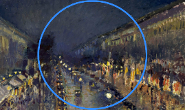 Boulevard Montmartre di notte