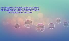Copy of IMPUGNACIÓN DE ACTOS DE ASAMBLEAS, JUNTAS DIRECTIVAS O DE SOCIOS