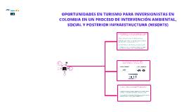 OPORTUNIDADES EN TURISMO PARA INVERSIONISTAS EN COLOMBIA