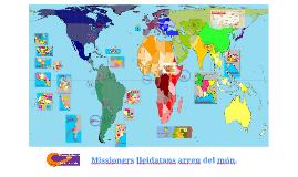 Missioners lleidatans arreu del món.