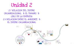 Copy of Copy of RELACION DEL DISEÑO  EL ORGANIZACIONAL Y EL TAMAÑO Y GIRO DE