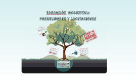 EDUCACION AMBIENTAL: Posibilidades y limitaciones