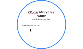 Glocal Ministries Home