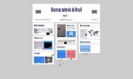 Recursos naturais do Brasil - Volume 2